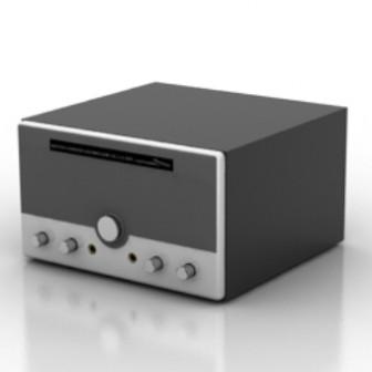 Retro Radio Free 3dmax Model