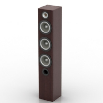 Tall Stereo Free 3dmax Model