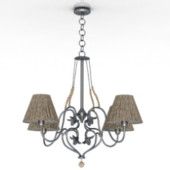 Exquisite Chandelier Free 3dmax Model