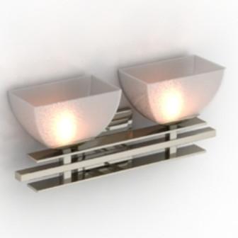 Pink Lamp Free 3dmax Model