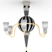 New Technologies And Creative Chandelier Free 3dmax Model