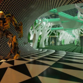 Creative Cinema Interior Free 3dmax Model 3d