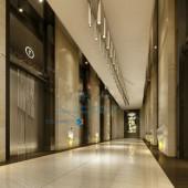 Luxury Hotel Corridor Free 3dmax Model