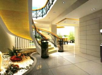 Modern Staircase 3dmax Model Scene