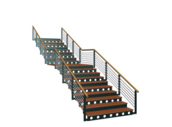 Simple Square Stairs