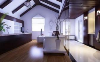 Bright Living Room Scene