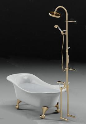 White Bathtub Free 3dmax Model
