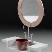 Wash Sink Free 3dmax Model
