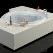 Luxury Bath Free 3dmax Model