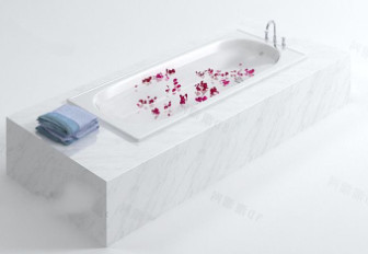 Luxury Bath Free 3dmax Model