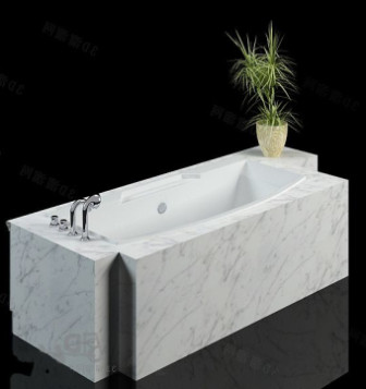 Luxurious Marble Stone Bathtub