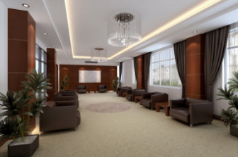 Office Reception Room Free 3dmax Scene Model