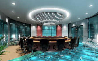 Luxury Circle Conference Room