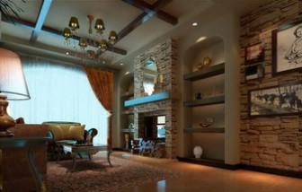 European Castle Living Room