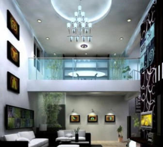 Minimalist Living Room Free 3dmax Scene
