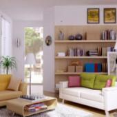 Modern Living Room Clean Design