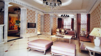 European Modern Living Room