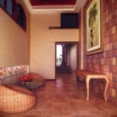 Asian Reception Living Room