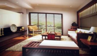 Wooden Retro Living Room