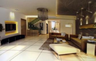 Modern Minimalist Style Living Room Free 3dmax Model