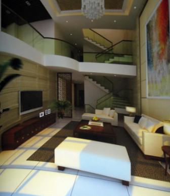 Luxury Villa Living Room Interior 3dsMax Model