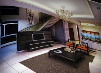 Living Room Duplex Interior Free 3dmax Model