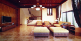 Southeast Asian Style Living Room