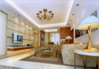 European Bright Living Room