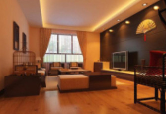 Chinese Modern Minimalist Living Room