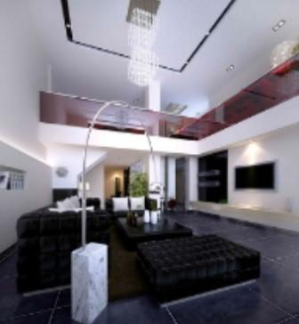 Modern Asia Living Room Free 3dmax Model