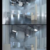 Apple Store Interior 3dsMax Scene