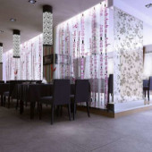 Modern Minimalist Hotel Interior 3dsMax Scene
