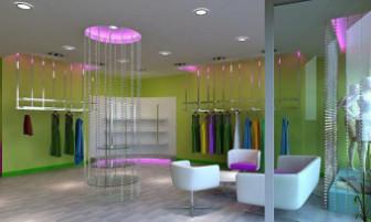 Women Store Interior 3dsMax Model