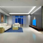 Interior Simple Living Room