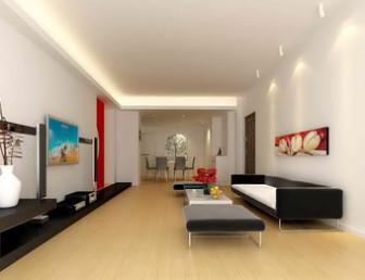 Japanese Living Room Interior 3dmax Model