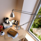 Warm Study Room Design