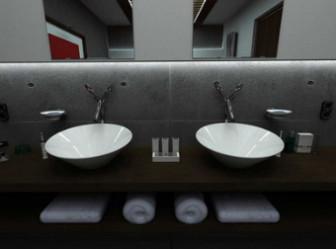 Bathroom  Indoor Space Design 3dmax Model