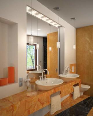Free 3dmax Model Interior Scene Boutique Bathroom