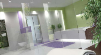 Design Lively Style Bathroom