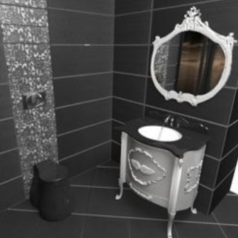 European Vintage Bathroom Free 3dmax Model