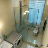 Scene Modern Interior Bathroom