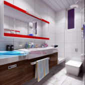 Modern Bathroom Interior Design Free 3dmax Model