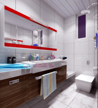 Modern Bathroom Interior Design Free 3dmax Model Free