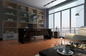 Modern Library Room Interior Design Free Max Model