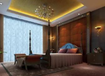 European Luxury Bedroom Scene Free 3dmax Model