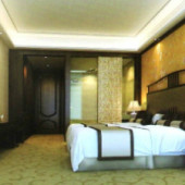 The Chinese Classical Spacious Bedroom