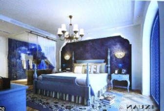 European Style Classical Fantasy Bedroom