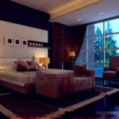 Simple Business Type Bedroom