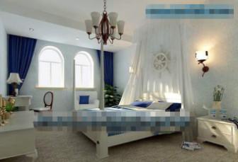 Mediterranean-style Bedroom
