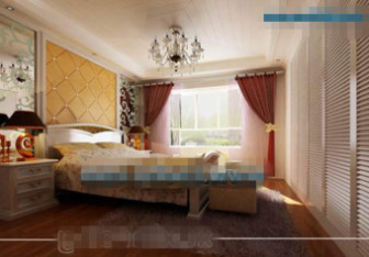 European Style Modern Hardcover Bedroom